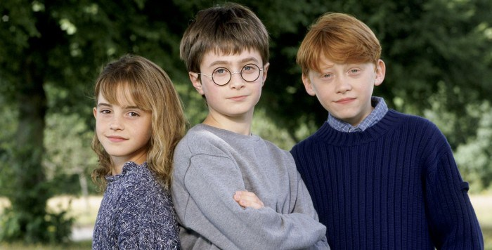 harry pottter trio young