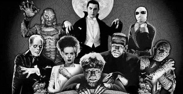 Universal Monsters TOP