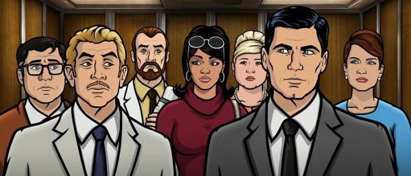Archer cast TOP