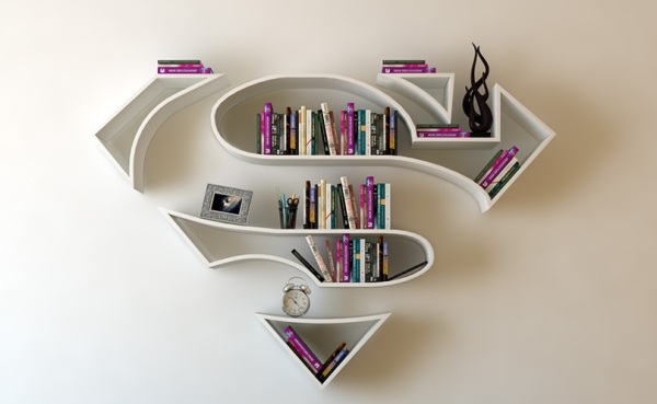 superhero bookshelves TOP