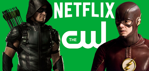 netflix the cw TOP