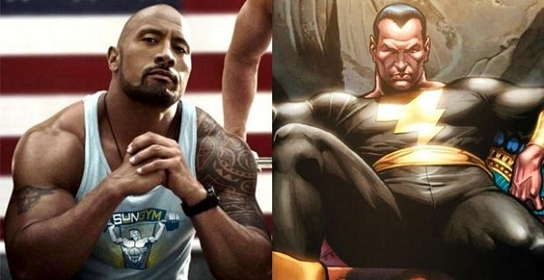 Black Adam Dwayne Johnson TOP