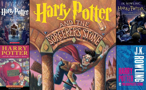 harry potter book covers TOP