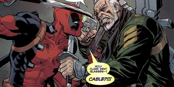 Cable and Deadpool top