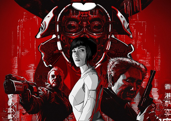 Ghost in the Shell promo top