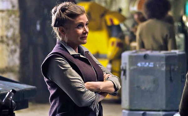 carrie fisher tlj