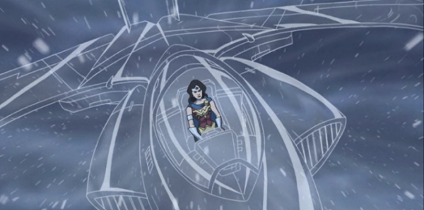Wonder Woman invisible jet